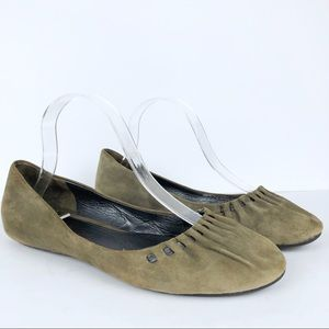 Cole Haan Nike Air Ballerina Suede  Flats Size 8.5